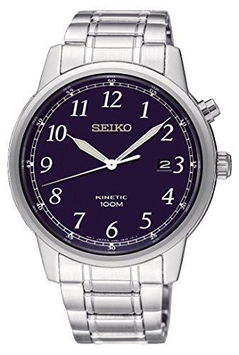 セイコー 腕時計 メンズ Seiko Mens Kinetic Watch, Blue Dial - SKA777P1セイコー 腕時計 メンズ