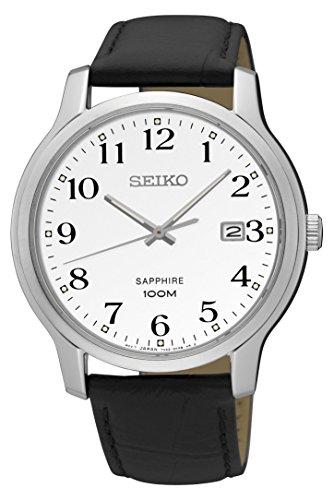 セイコー 腕時計 メンズ 【送料無料】Seiko Sapphire Glass Silver Dial Mens Watch SGEH69セイコー 腕時計 メンズ