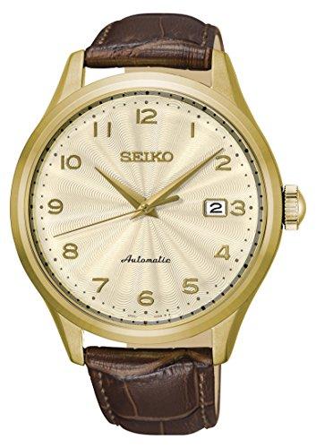 セイコー 腕時計 メンズ 【送料無料】Seiko Mens Analogue Automatic Watch with Leather Strap SRPC22K1セイコー 腕時計 メンズ