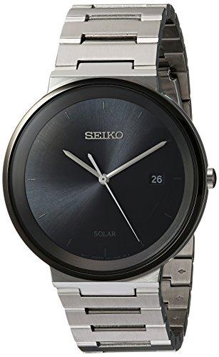 セイコー 腕時計 メンズ Seiko Mens Dress Japanese-Quartz Watch with Stainless-Steel Strap, Silver, 20 (Model: SNE479)セイコー 腕時計 メンズ