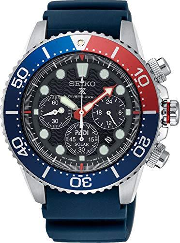 セイコー 腕時計 メンズ SEIKO PROSPEX PADI Special Edition Chronograph Solar Diver's 200M Pepsi Bezel SSC663P1セイコー 腕時計 メンズ