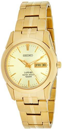 セイコー 腕時計 メンズ Seiko Men's SGGA62 Gold Stainless-Steel Japanese Quartz Diving Watchセイコー 腕時計 メンズ