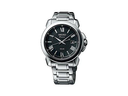 セイコー 腕時計 メンズ 【送料無料】Seiko Premier SNE455P1 Mens Wristwatch Design Highlightセイコー 腕時計 メンズ