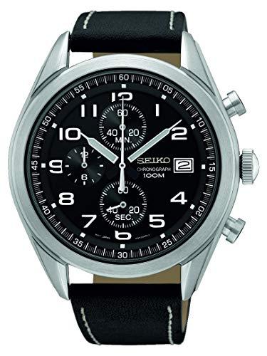 セイコー 腕時計 メンズ 【送料無料】Seiko Chrono SSB271P1 Mens Chronograph Solid Caseセイコー 腕時計 メンズ