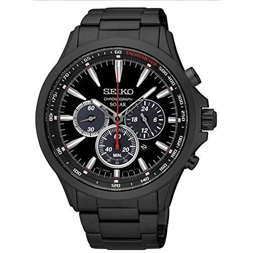 腕時計 セイコー メンズ 【送料無料】Japan Mens Analog Casual Solar Seiko Watch SSC497P1腕時計 セイコー メンズ