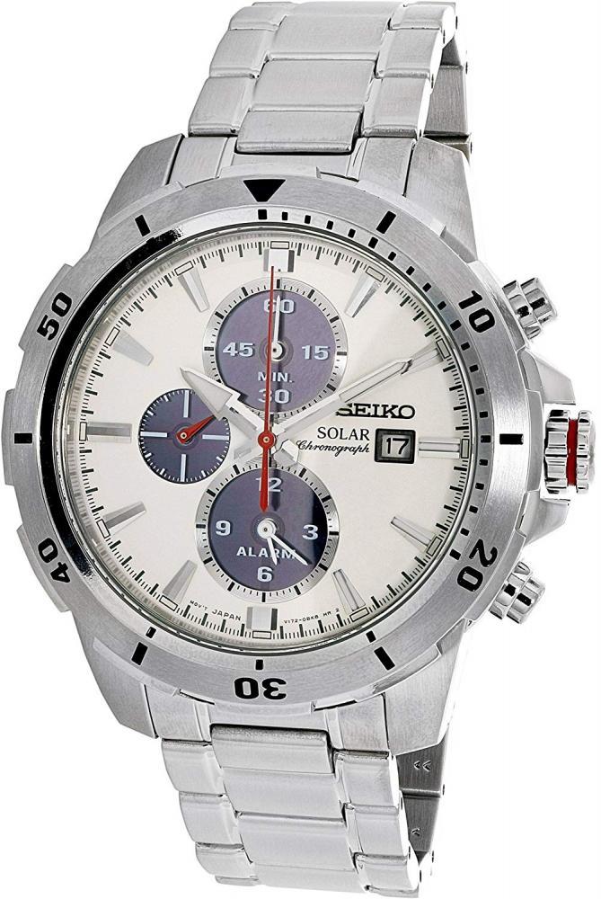 セイコー 腕時計 メンズ Seiko Solar SSC553P1 Men's watch Solid Caseセイコー 腕時計 メンズ