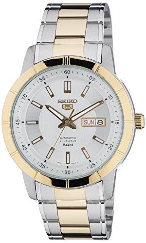 セイコー 腕時計 メンズ 夏のボーナス特集 Seiko Men's SNKN58K1 5 White Watchセイコー 腕時計 メンズ 夏のボーナス特集