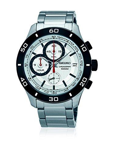 セイコー 腕時計 メンズ 【送料無料】SEIKO SSB189P1,Men's Chronograph,Stainless Steel Case & Bracelet,Silver Dial,100m WR,SSB189セイコー 腕時計 メンズ