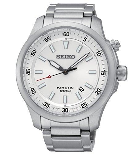 セイコー 腕時計 メンズ 【送料無料】Seiko Mens KINETIC Analog Dress Watch NWT SKA683P1セイコー 腕時計 メンズ