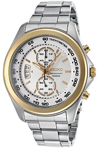 セイコー 腕時計 メンズ SEIKO SNN256P1,Men's Chronograph,Stainless Steel Case & Bracelet,Silver Dial,100m WR,SNN256セイコー 腕時計 メンズ