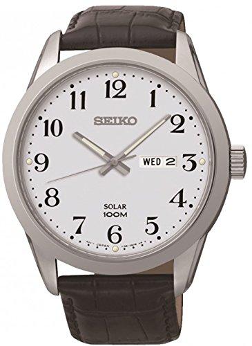 セイコー 腕時計 メンズ Sne371p1 Watch Seiko Solar Sne371p1 Watch Men´s メンズ Whiteセイコー 腕時計 メンズ, カミハヤシムラ:13ab9b2a --- gamenavi.club