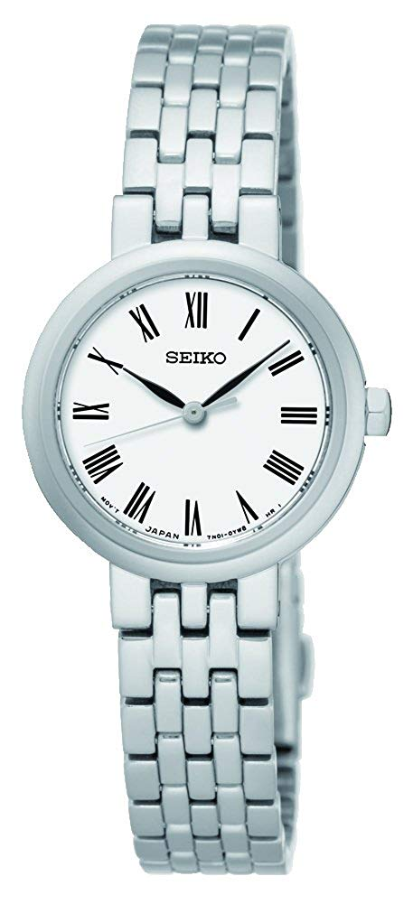 セイコー 腕時計 レディース Seiko Women's Analogue Classic Quartz Watch with Stainless Steel Strap SRZ461P1セイコー 腕時計 レディース