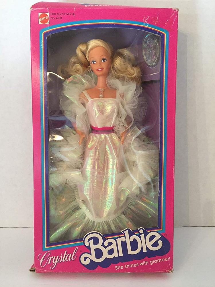 バービー バービー人形 4598 【送料無料】1983 Blonde Crystal Barbie Doll #4598バービー バービー人形 4598