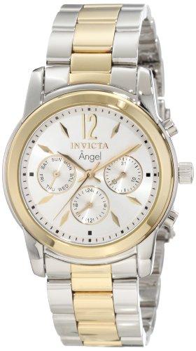 インヴィクタ インビクタ エンジェル 腕時計 レディース Invicta Women's 11735 Angel Silver Dial Two Tone Stainless Steel Watchインヴィクタ インビクタ エンジェル 腕時計 レディース