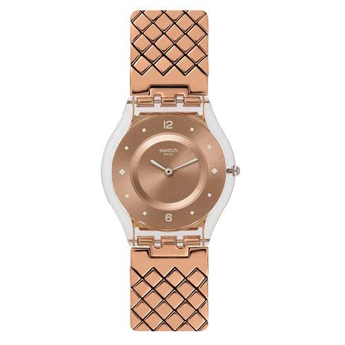 スウォッチ 腕時計 レディース Swatch Women's Skin SFK389GB Rose Gold Rose-Gold Swiss Quartz Watchスウォッチ 腕時計 レディース