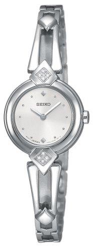 セイコー 腕時計 レディース 【送料無料】Seiko Women's SUJF31 Diamond Silver-Tone Watchセイコー 腕時計 レディース