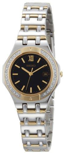 セイコー 腕時計 レディース 【送料無料】Seiko Women's SXDB30 Sporty Diamond Dress Two-Tone Watchセイコー 腕時計 レディース