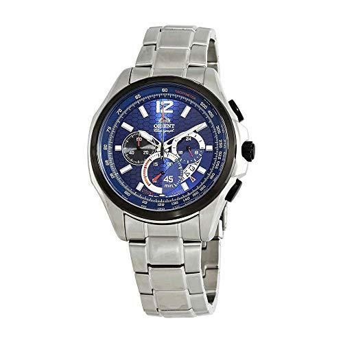 オリエント 腕時計 メンズ Orient Sport Chronograph Blue Dial Mens Watch FSY00002Dオリエント 腕時計 メンズ