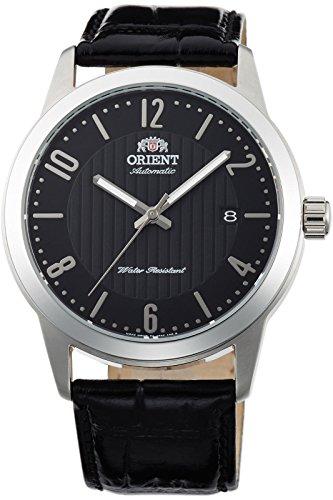 オリエント 腕時計 メンズ 【送料無料】Orient FAC05006B Men's Howard Leather Band Black Dial Automatic Watchオリエント 腕時計 メンズ