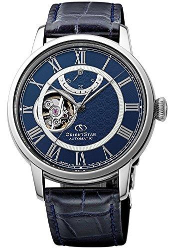 オリエント 腕時計 メンズ 【送料無料】ORIENT STAR Open Heart Power Reserve Roman Automatic Blue Watch RE-HH0002Lオリエント 腕時計 メンズ