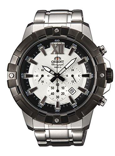 オリエント 腕時計 メンズ 【送料無料】ORIENT Sporty Quartz Heavy Sports 100m Chronograph Watch TW03002Wオリエント 腕時計 メンズ