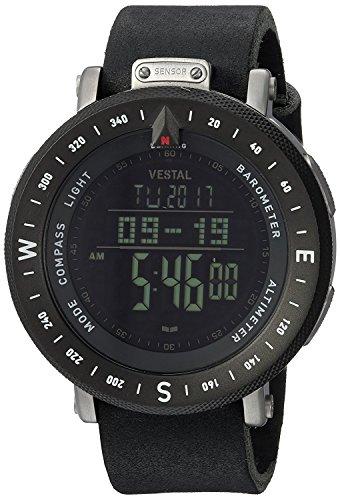 ベスタル ヴェスタル 腕時計 メンズ Vestal Guide Makers Watch   Black-Natural/Silver-Black/Negativeベスタル ヴェスタル 腕時計 メンズ