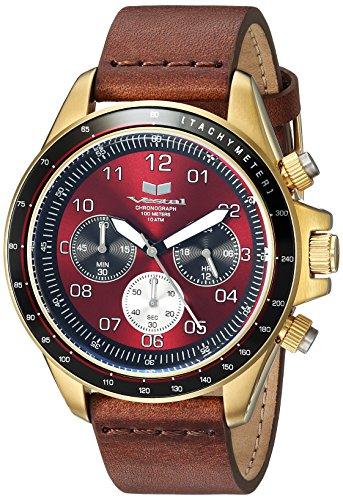 ベスタル ヴェスタル 腕時計 メンズ 【送料無料】Vestal ZR2 Leather Stainless Steel Japanese-Quartz Watch Strap, Brown, 20 (Model: ZR243L21.BR)ベスタル ヴェスタル 腕時計 メンズ
