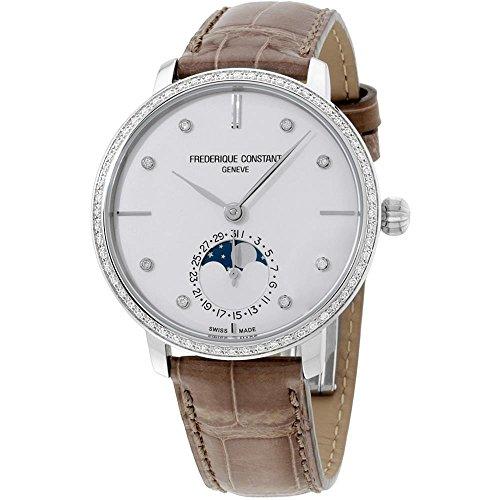 フレデリックコンスタント フレデリック・コンスタント 腕時計 メンズ 【送料無料】Frederique Constant Slimline Silver Dial Stainless Steel Men's Watch FC703SD3SD6フレデリックコンスタント フレデリック・コンスタント 腕時計 メンズ