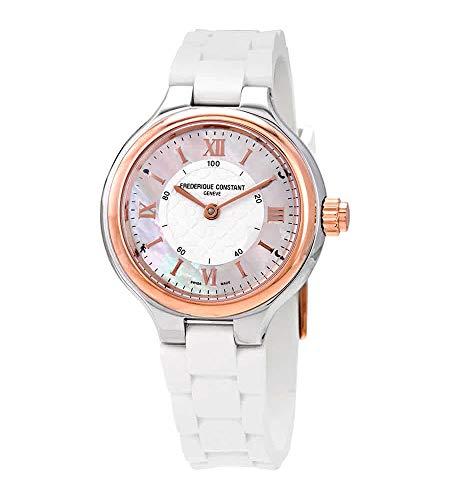 フレデリックコンスタント フレデリック・コンスタント 腕時計 レディース Frederique Constant HSW Silver Dial Silicone Strap Ladies Watch FC281WH3ER2フレデリックコンスタント フレデリック・コンスタント 腕時計 レディース