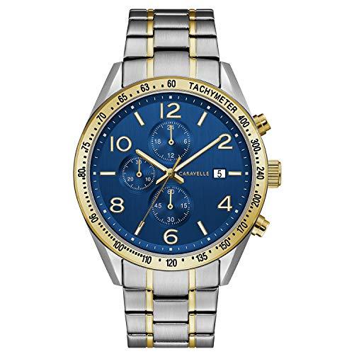 ブローバ 腕時計 メンズ Caravelle by Bulova Dress Watch (Model: 45B152)ブローバ 腕時計 メンズ