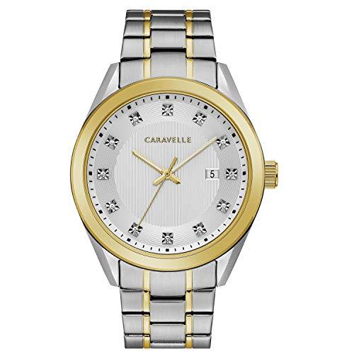ブローバ 腕時計 メンズ Caravelle Designed by Bulova Dress Watch (Model: 45B154)ブローバ 腕時計 メンズ