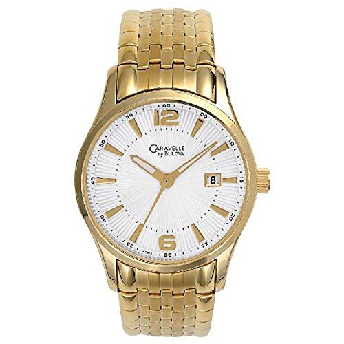 ブローバ 腕時計 メンズ 【送料無料】Caravelle Mens Expansion Watch # 44B13ブローバ 腕時計 メンズ