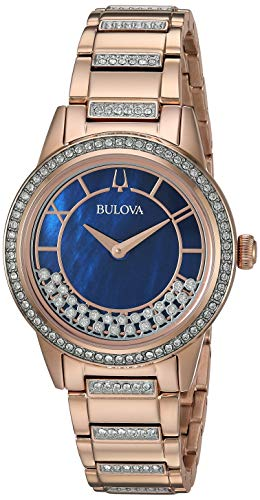 ブローバ 腕時計 レディース Bulova Women's Quartz Movement Two Tone Dress Watch (Model: 98L247)ブローバ 腕時計 レディース