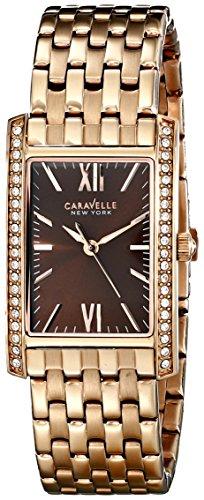 ブローバ 腕時計 レディース 【送料無料】Caravelle New York Women's 44L120 Analog Rose Gold Dress Watchブローバ 腕時計 レディース