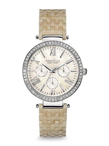 腕時計 ブローバ レディース 【送料無料】Caravelle New York Women's 43N102 Crystal-Accented Stainless Steel Watch腕時計 ブローバ レディース