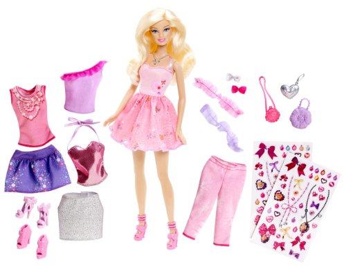 バービー バービー人形 日本未発売 プレイセット アクセサリ 【送料無料】Barbie Glitter Coordinates! Fashion Set (Y7503)バービー バービー人形 日本未発売 プレイセット アクセサリ