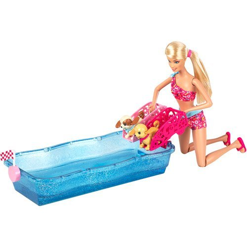 バービー バービー人形 日本未発売 プレイセット アクセサリ Barbie Swim and Race Pups and Dollバービー バービー人形 日本未発売 プレイセット アクセサリ