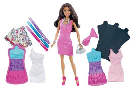 バービー バービー人形 日本未発売 プレイセット アクセサリ 【送料無料】Barbie Fashion Design Plates African-American Dollバービー バービー人形 日本未発売 プレイセット アクセサリ