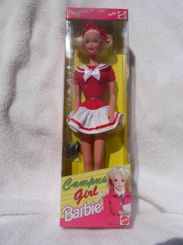 バービー バービー人形 日本未発売 Philippine Campus Girl Barbie in Dress with Red Jersey Top and White Skirt (1998) - RAREバービー バービー人形 日本未発売