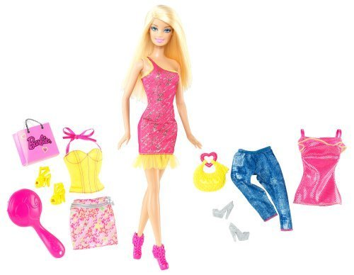 バービー バービー人形 日本未発売 【送料無料】Barbie Doll and Fashions Barbie Pink Dress Giftsetバービー バービー人形 日本未発売
