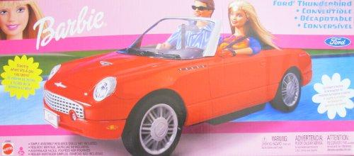 バービー バービー人形 日本未発売 プレイセット アクセサリ Barbie Ford Thunderbird Convertible Vehicle - T-Bird Car w Tilting Steering Wheel & Gas Cap Opens! (2002 Multi-Lingual Box)バービー バービー人形 日本未発売 プレイセット アクセサリ