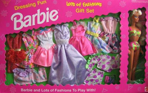 バービー バービー人形 着せ替え 衣装 ドレス Barbie Dressing Fun Lots of Fashions Gift Set w Doll (1993 Arcotoys, Mattel)バービー バービー人形 着せ替え 衣装 ドレス