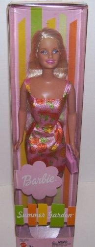 バービー バービー人形 日本未発売 【送料無料】Barbie Summer Garden Doll in Orange and Pink Flowered Print Dressバービー バービー人形 日本未発売