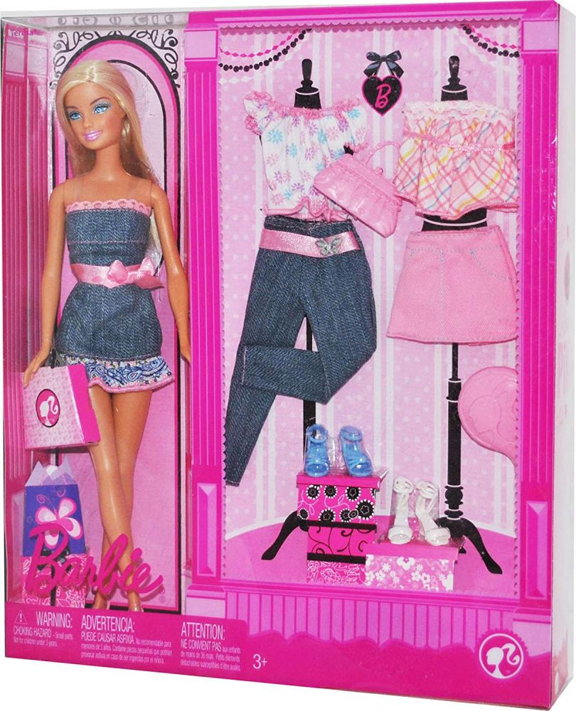 バービー バービー人形 日本未発売 Barbie 2008 Pink Series 12 Inch Doll Set - Teresa Doll with 3 Outfits, 3 Pair of Shoes. Handbag and Hairbrush (P1709)バービー バービー人形 日本未発売