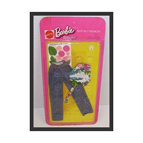 バービー バービー人形 ドレス 着せ替え 衣装 ドレス 1972 Barbie #7751バービー Kelley PJ バービー人形 Best Buy Fashion Clothing Set with Jeans Top & Iron on Patches #7751バービー バービー人形 着せ替え 衣装 ドレス, キョウタンゴシ:6468515c --- jpworks.be