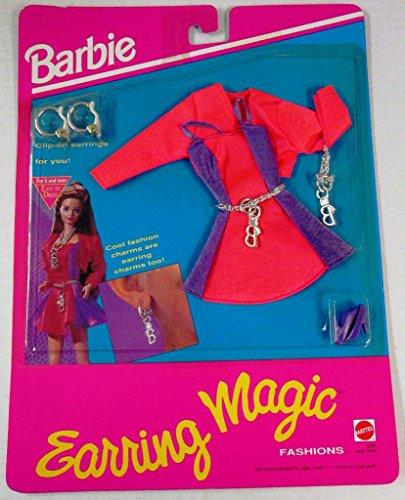 バービー バービー人形 着せ替え 衣装 ドレス 【送料無料】Barbie Earring Magic Fashions w Earrings 4 You (1992)バービー バービー人形 着せ替え 衣装 ドレス