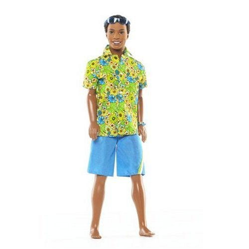 バービー バービー人形 日本未発売 Barbie Surf's Up Beach Doll - Steven with Hawaian Shirt, Blue Shorts and Sunglassesバービー バービー人形 日本未発売