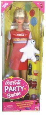 バービー バービー人形 【送料無料】Mattel Coca-Cola Party Barbie Dollバービー バービー人形