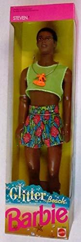 バービー バービー人形 日本未発売 【送料無料】glitter beach barbie Steven African American Barbie dollバービー バービー人形 日本未発売