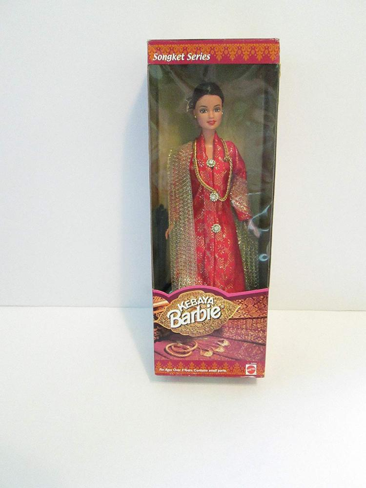 バービー バービー人形 日本未発売 Kebaya Barbie (Songket Series 1999) - Malaysian Barbie - RAREバービー バービー人形 日本未発売
